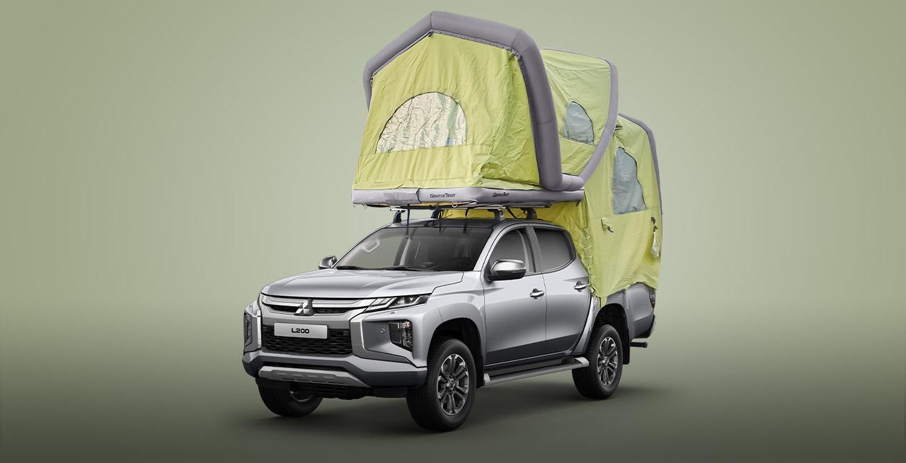 Mit Mitsubishi und Dachzelt auf der Suche nach dem Abenteuer