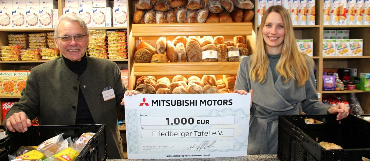 Mitsubishi unterstützt auch in diesem Jahr wohltätige Vereine